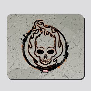 Ghost Rider Logo Mousepad