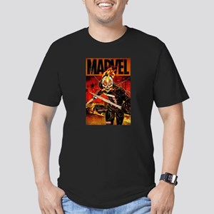 Ghost Rider Marvel Men's Fitted T-Shirt (dark)