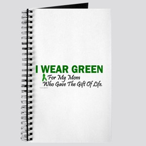 Green For Mom Organ Donor Donation Journal