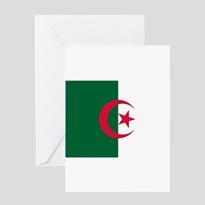 Algeria Flag Greeting Cards