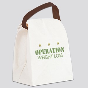 Operation Weightloss Canvas Lunch Bag