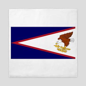 American Samoa Flag Queen Duvet