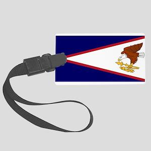 American Samoa Flag Luggage Tag