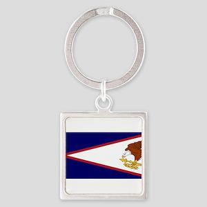 American Samoa Flag Keychains