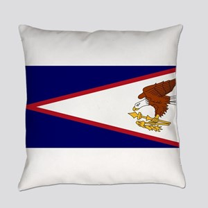 American Samoa Flag Everyday Pillow