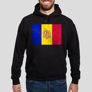 Andorra Flag Hoodie