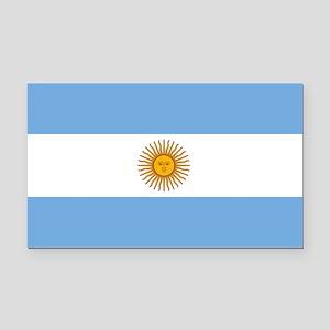 Argentina Flag Rectangle Car Magnet