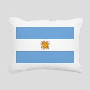 Argentina Flag Rectangular Canvas Pillow