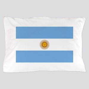 Argentina Flag Pillow Case