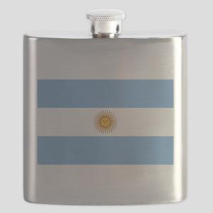 Argentina Flag Flask