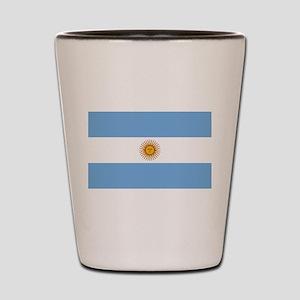 Argentina Flag Shot Glass