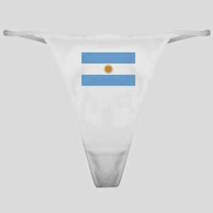Argentina Flag Classic Thong