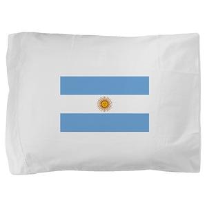 Argentina Flag Pillow Sham