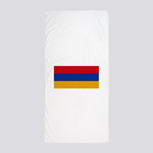 Armenia Flag Beach Towel