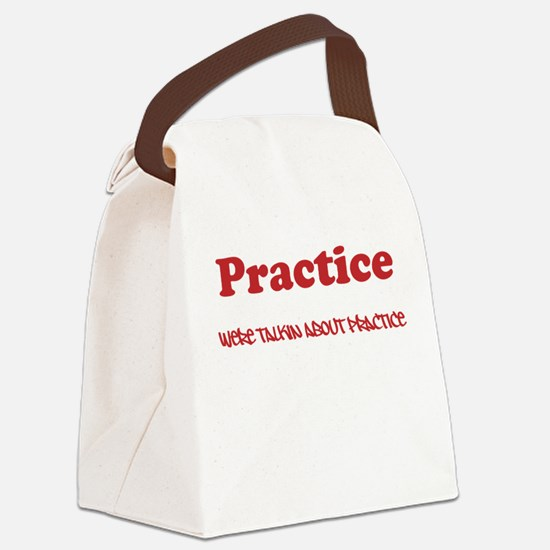 Practice Canvas Lunch Bag