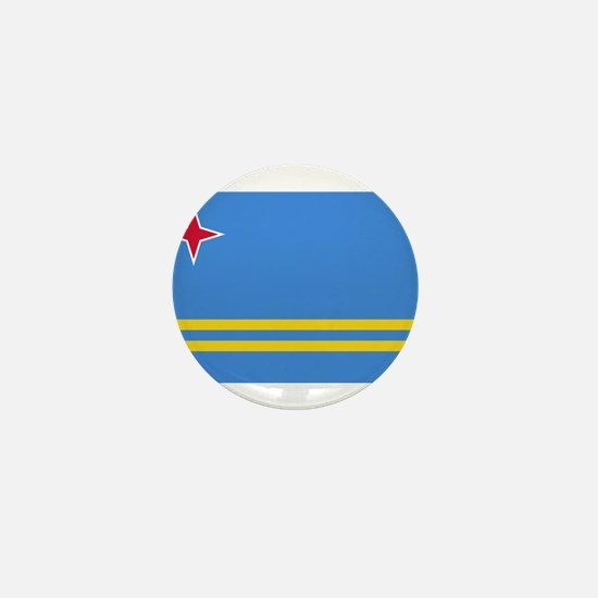 Aruba Flag Mini Button