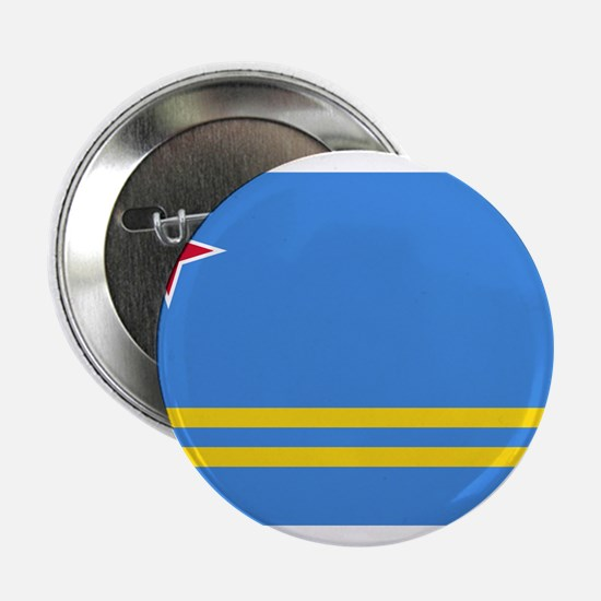 "Aruba Flag 2.25"" Button (10 pack)"