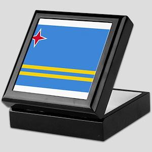 Aruba Flag Keepsake Box