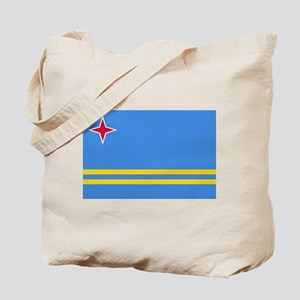 Aruba Flag Tote Bag