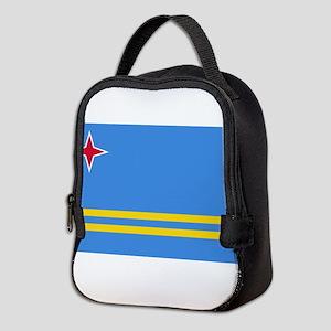 Aruba Flag Neoprene Lunch Bag