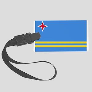 Aruba Flag Luggage Tag