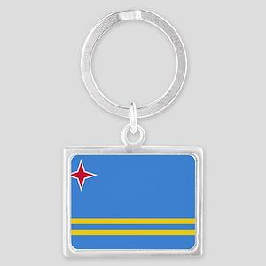 Aruba Flag Keychains