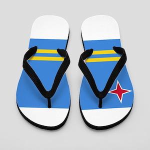 Aruba Flag Flip Flops
