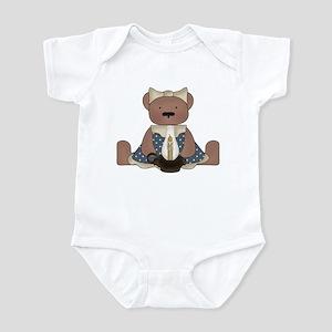 Teddy Bear With Vintage Lamp Infant Bodysuit