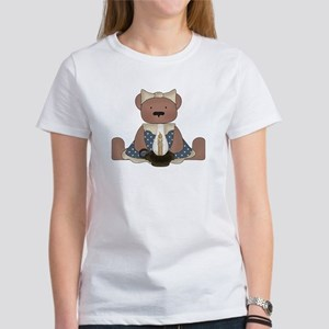 Teddy Bear With Vintage Lamp Women's T-Shirt