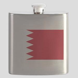 Bahrain Flag Flask