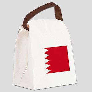 Bahrain Flag Canvas Lunch Bag