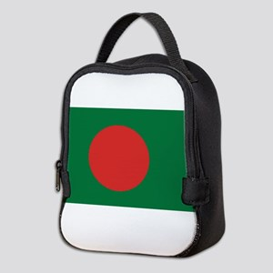 Bangladesh Flag Neoprene Lunch Bag