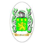 Moor Sticker (Oval 50 pk)