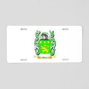 Moor Aluminum License Plate