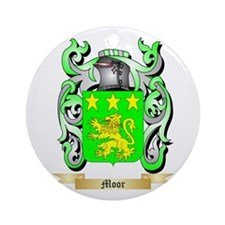 Moor Round Ornament
