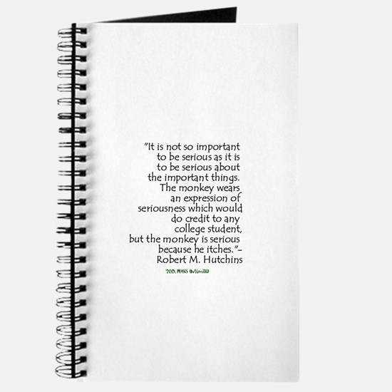 Hutchins Quote Journal