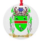 Moody Round Ornament