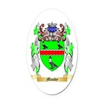 Moody Oval Car Magnet
