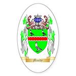Moody Sticker (Oval 10 pk)