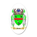 Moody 35x21 Oval Wall Decal