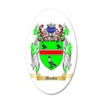 Moodie 20x12 Oval Wall Decal