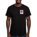 Monzon Men's Fitted T-Shirt (dark)