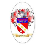 Monzon Sticker (Oval 10 pk)