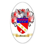 Monzon Sticker (Oval 50 pk)