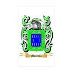 Montoya Sticker (Rectangle 10 pk)