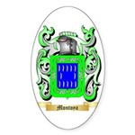 Montoya Sticker (Oval 50 pk)