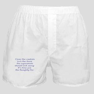Naughty File Boxer Shorts
