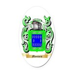 Montoro Oval Car Magnet