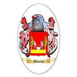 Montijo Sticker (Oval 50 pk)