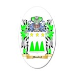 Montiel 35x21 Oval Wall Decal